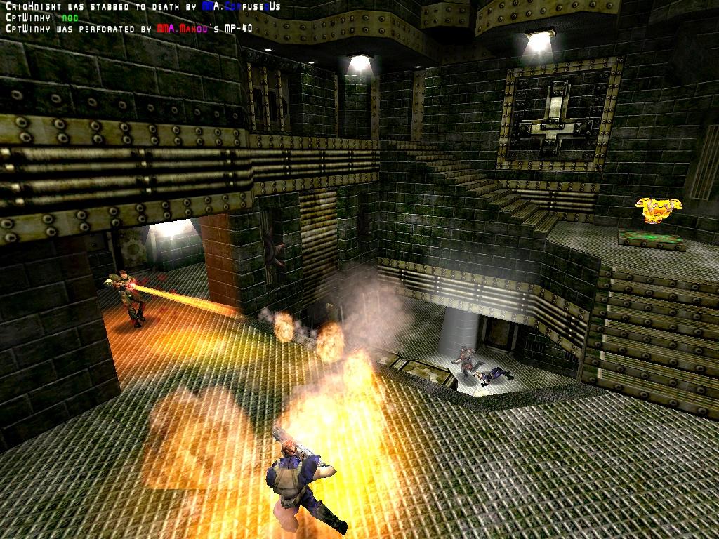 Flamethrowers-a-plenty.