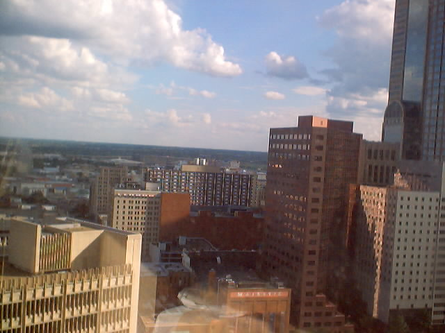 View from the 18th floor.