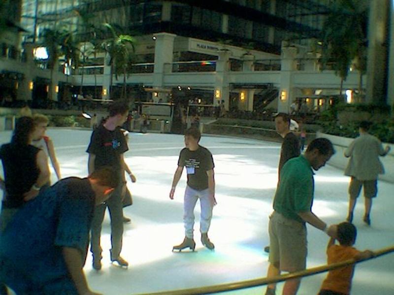 Geeks on ice!