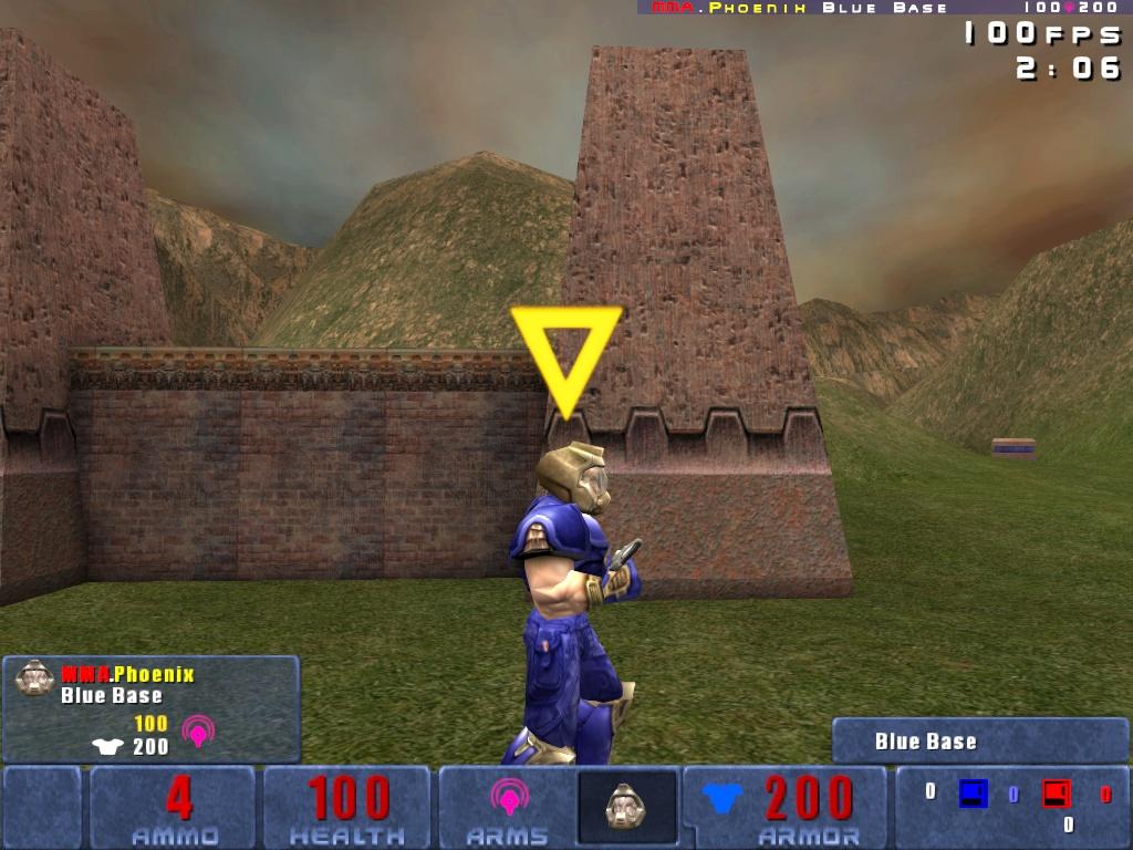 Tesla Mine as carried by a Blue Doom Warrior.