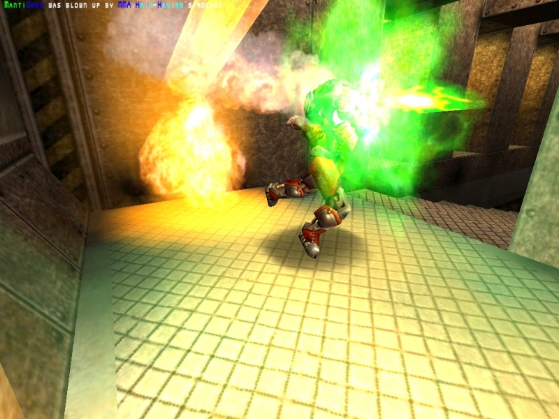 The green death cannon fires.