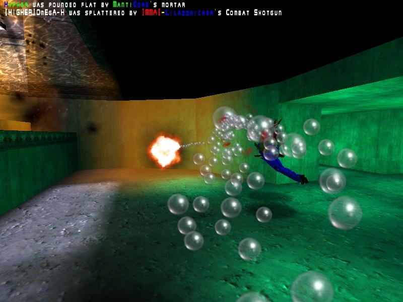 Ze bubbles!  Ze bubbles!