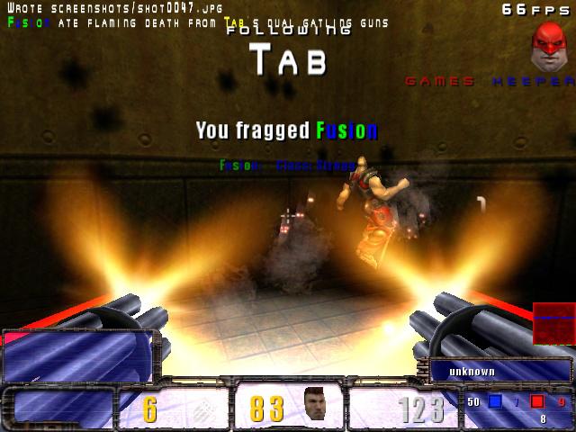 Eat flaming death, alien scumbag!