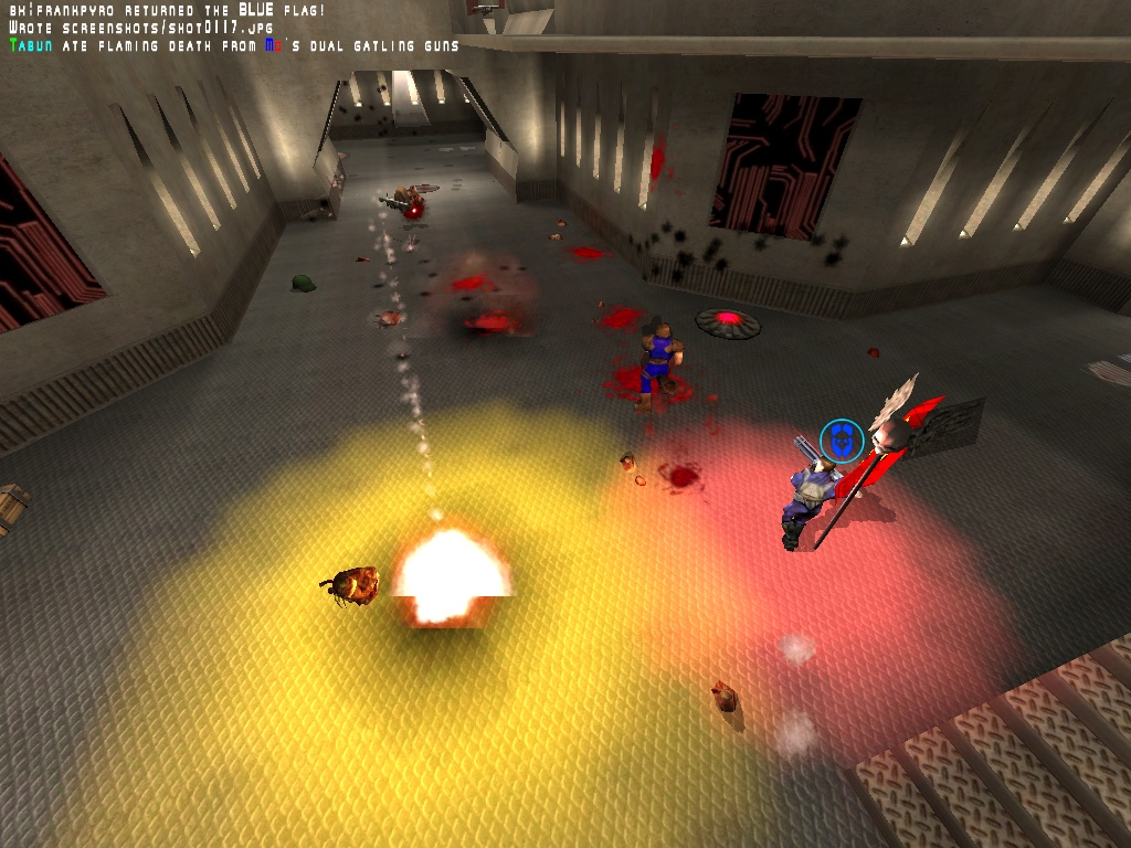 Mo__ deals flamin' death!