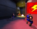 Despite their recent rivalry, nothing pairs better in a game of CTF than a Doom-Slipgate flagrunning combo.