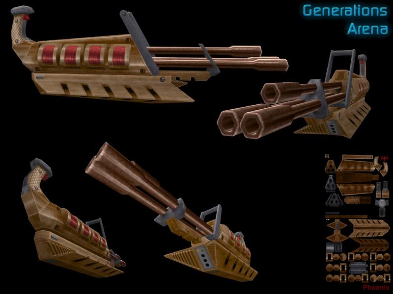 Slipgate Laser Cannon