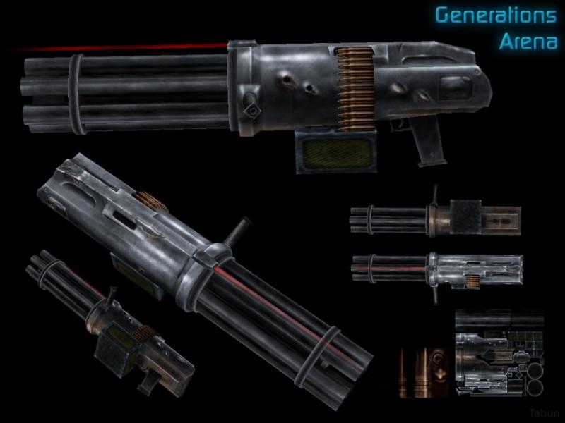 Gatling Gun/Dual Gatling Guns