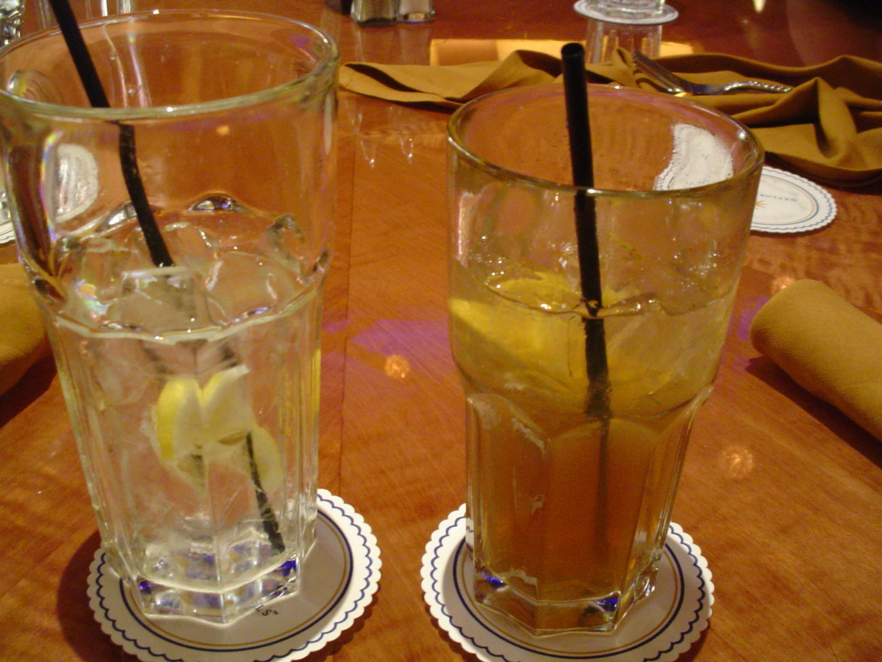 Water, or Long Island.  Take your pick.