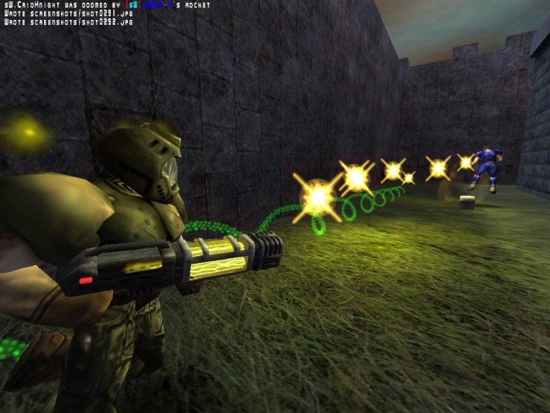 Doom's fast, but plasma is faster.