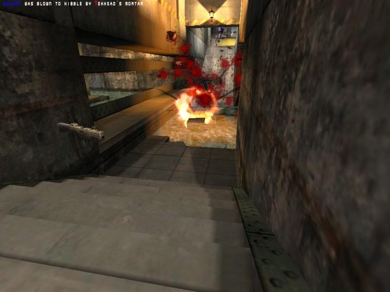 Tekhead's revenge for all those rails.