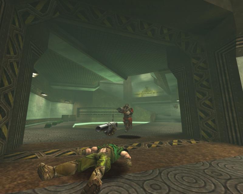Visor teaches Doom a lesson or two.