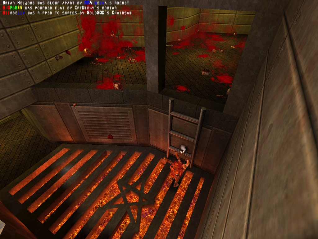I don't remember this being so messy in Quake 2, do you?