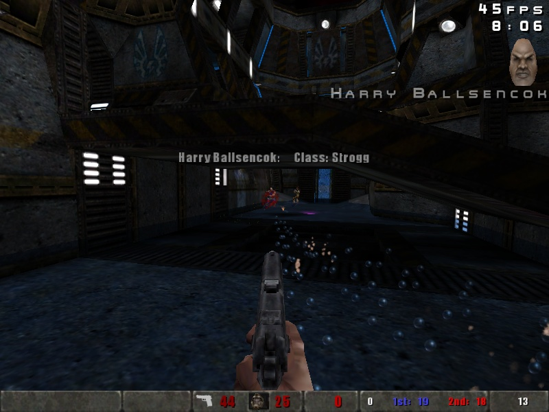 Harry gets a bullet you-know-where!