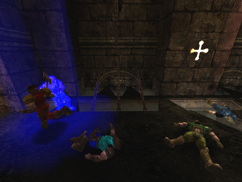 Corpses lining up for the quaded.