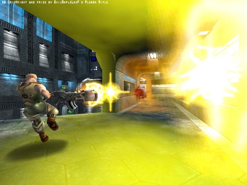 Plasma Rifle > Hyperblaster.