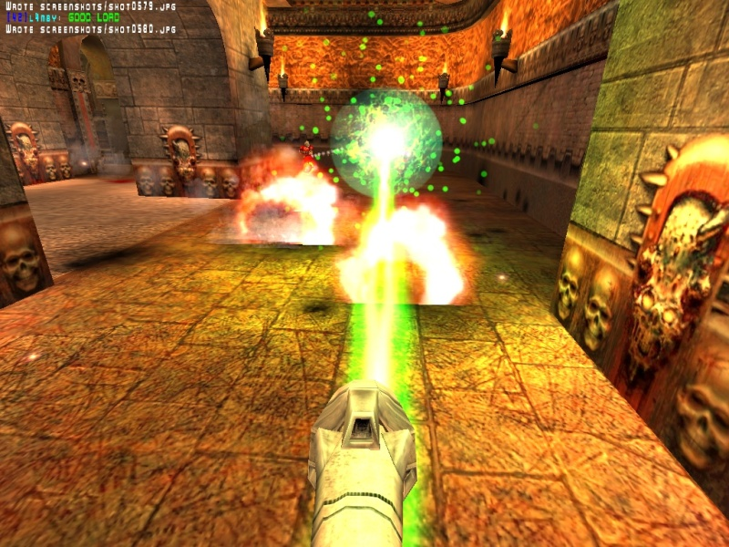 Whoa, when did the Slippy rocket launcher get a targeting laser?