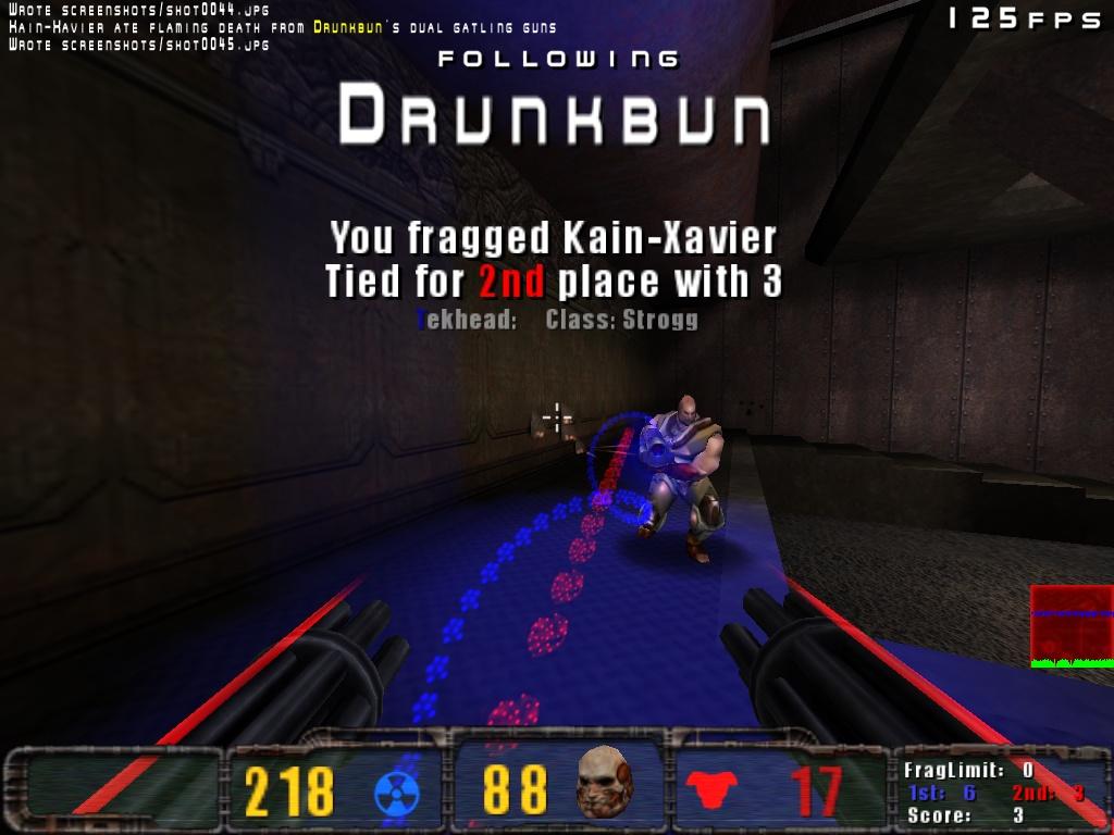 Dualgats vs Strogg Railgun