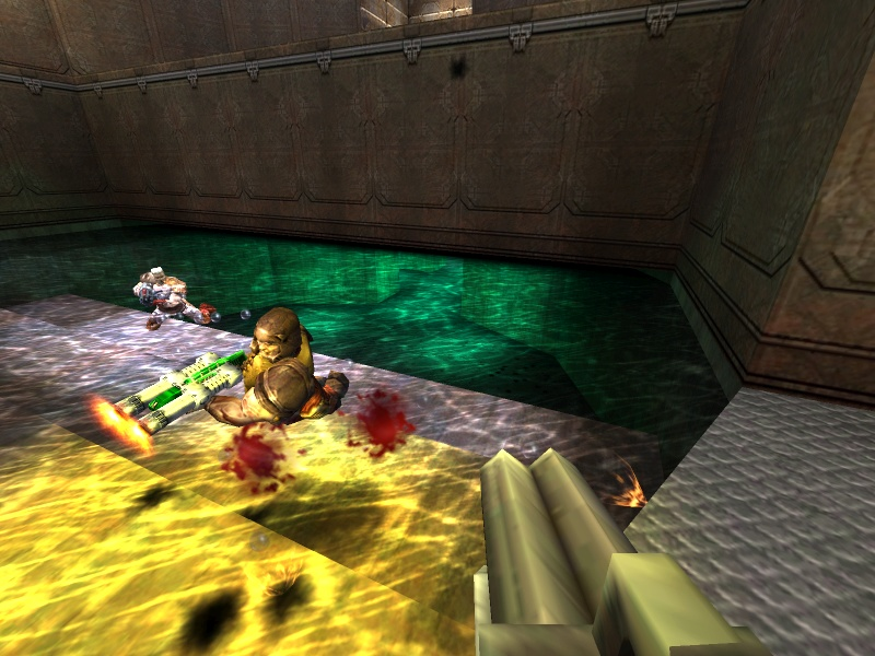 Going for a swim
