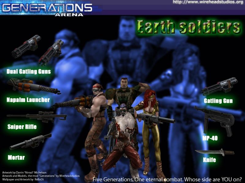 Reboot: Earth Soldiers
