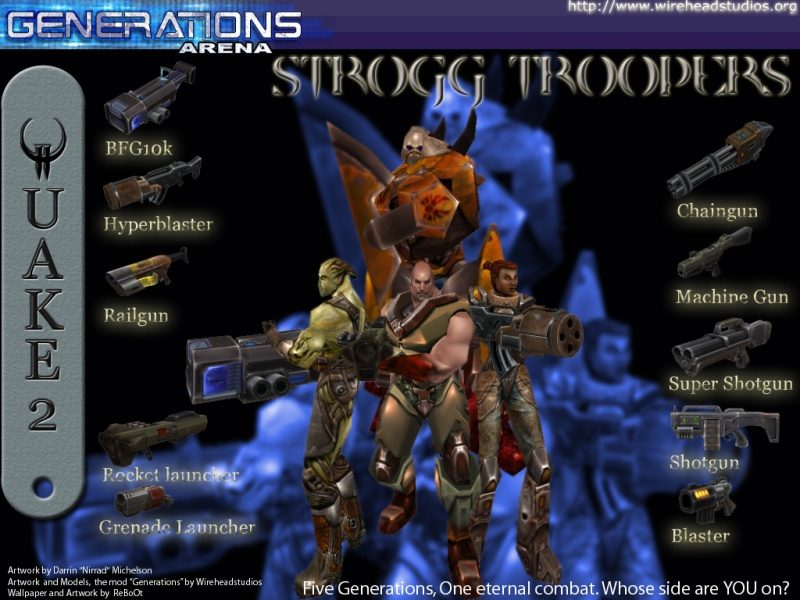 Reboot: Strogg Troopers