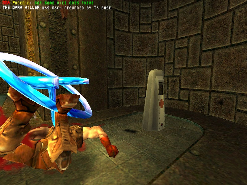 Quake version of a Greek tragedy.