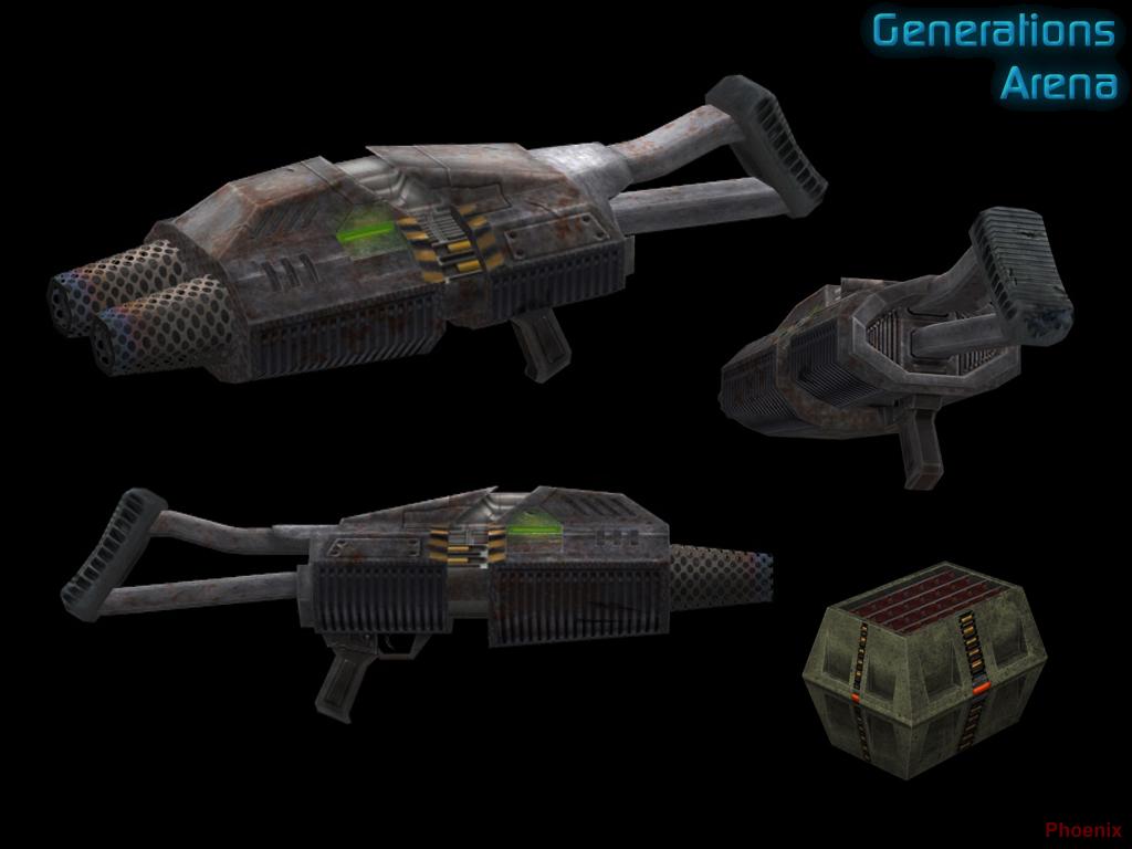 Phalanx Particle Cannon